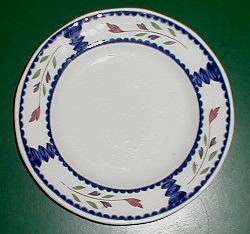 Make sure your browser can show photos and reload this page to see Adams China Lancaster  Bread and butter plate 6