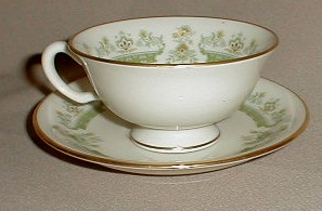 Make sure your browser can show photos and reload this page to see Lenox China Marissa Cup and saucer set