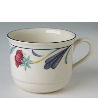 Make sure your browser can show photos and reload this page to see Lenox China Poppies On Blue Cup only (no saucer)