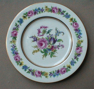 Make sure your browser can show photos and reload this page to see Castleton - USA China Manor Bread and butter plate