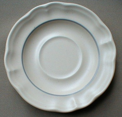 Make sure your browser can show photos and reload this page to see Pfaltzgraff China Remembrance Saucer only