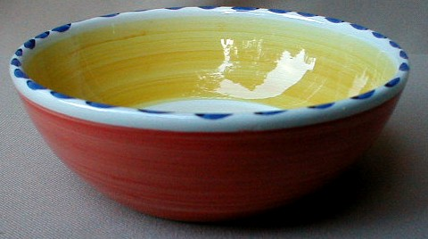 Make sure your browser can show photos and reload this page to see Epoch Dinnerware Tulip Tune E408 Cereal bowl