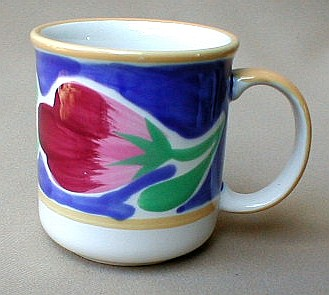 Make sure your browser can show photos and reload this page to see Epoch Dinnerware Italian Garden E901 Mug