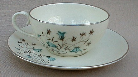 Make sure your browser can show photos and reload this page to see Flintridge China Belnor Cup and saucer set