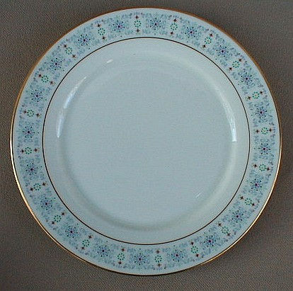 Make sure your browser can show photos and reload this page to see Oxford (Div Of Lenox) China Tivoli Bread and butter plate