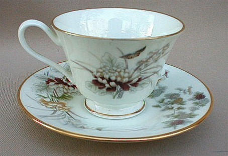 Make sure your browser can show photos and reload this page to see Oxford (Div Of Lenox) China Tranquility Cup and saucer set
