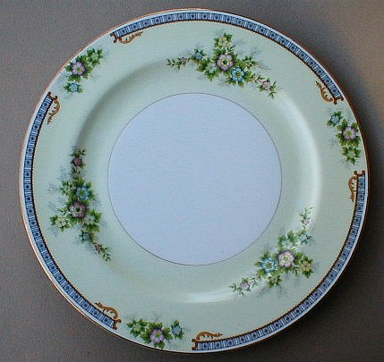 Make sure your browser can show photos and reload this page to see Meito (F & B Japan) China Cecil Dinner plate 9 7/8