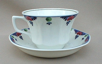 Make sure your browser can show photos and reload this page to see Adams China Veruschka  Cup and saucer set 2 1/8
