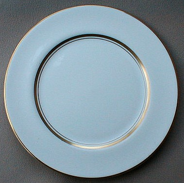 Make sure your browser can show photos and reload this page to see Flintridge China Annandale - Rim Bread and butter plate 6 1/4