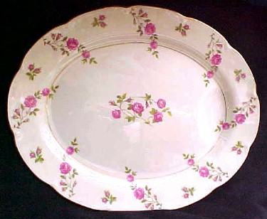 Make sure your browser can show photos and reload this page to see Haviland China Delaware Platter, large (NY)