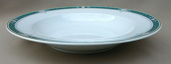 Make sure your browser can show photos and reload this page to see Mikasa China Somerset Y0207 Soup bowl, rim shape 9
