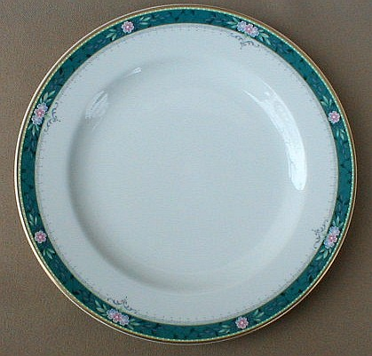 Make sure your browser can show photos and reload this page to see Mikasa China Somerset Y0207 Salad plate 8 1/4