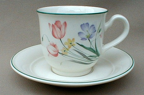 Make sure your browser can show photos and reload this page to see Noritake China Stepping High 9181 Cup and saucer set 3 1/4