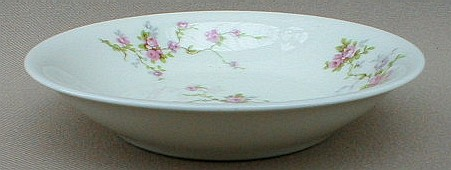 Make sure your browser can show photos and reload this page to see Haviland China Pink Spray Fruit/dessert bowl 5