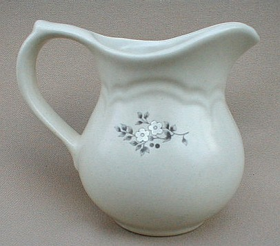 Make sure your browser can show photos and reload this page to see Pfaltzgraff China Heirloom Creamer