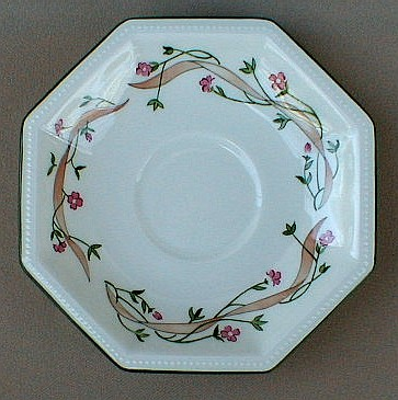 Make sure your browser can show photos and reload this page to see Johnson Brothers Dinnerware  Eternal Beau Saucer only