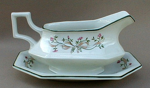 Make sure your browser can show photos and reload this page to see Johnson Brothers Dinnerware  Eternal Beau Gravy -separate stand