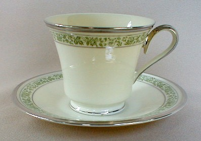 Make sure your browser can show photos and reload this page to see Lenox China Memoir Cup and saucer set