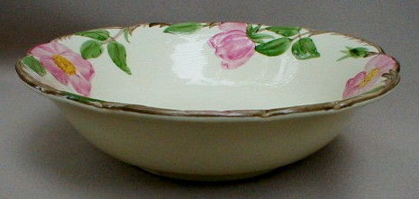 Make sure your browser can show photos and reload this page to see Franciscan China Desert Rose - USA  Cereal bowl 5 7/8