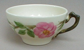 Make sure your browser can show photos and reload this page to see Franciscan China Desert Rose - USA  Cup only (no saucer) 4