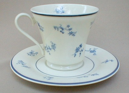 Make sure your browser can show photos and reload this page to see Gorham China Fairfield Cup and saucer set 3 1/2