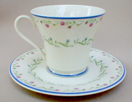 Make sure your browser can show photos and reload this page to see Gorham China Southern Charm Cup and saucer set 3 1/2