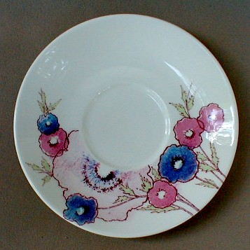 Make sure your browser can show photos and reload this page to see Noritake China Medley 8771 Saucer only 6 1/4