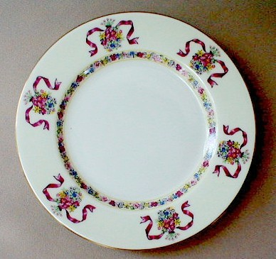 Make sure your browser can show photos and reload this page to see Haviland China St. Regis Bread and butter plate 6 1/2