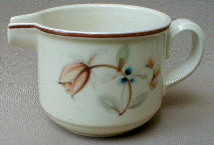 Make sure your browser can show photos and reload this page to see Noritake China Fallriver B331/W15 Creamer