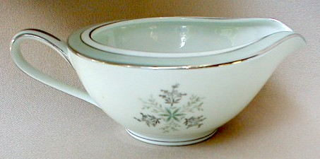 Make sure your browser can show photos and reload this page to see Noritake China Lucille 5813 Creamer