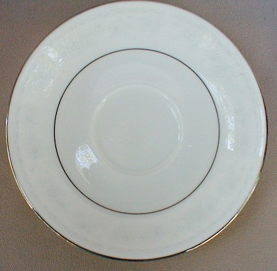 Make sure your browser can show photos and reload this page to see Noritake China Dreamspun 4721 Saucer only 5 7/8