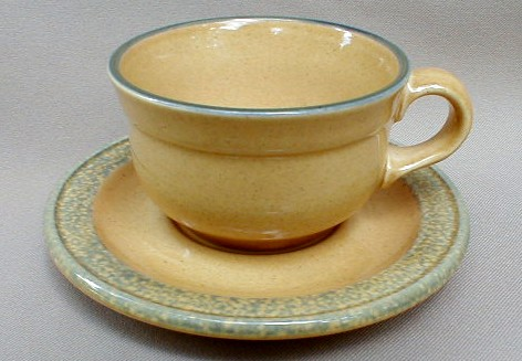 Make sure your browser can show photos and reload this page to see Pfaltzgraff China America Cup and saucer set