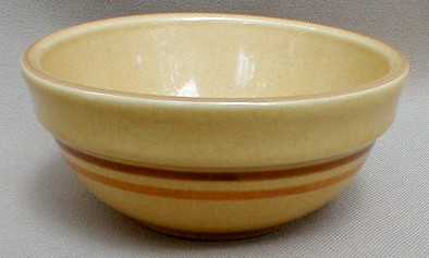 Make sure your browser can show photos and reload this page to see Pfaltzgraff China America Fruit/dessert bowl brown