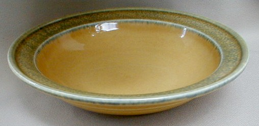 Make sure your browser can show photos and reload this page to see Pfaltzgraff China America Soup bowl, rim shape 8 1/2