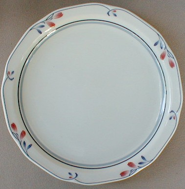 Make sure your browser can show photos and reload this page to see Noritake China Copper Bud 7911 Bread and butter plate 7