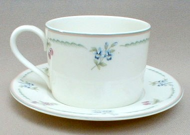 Make sure your browser can show photos and reload this page to see Gorham China May Meadow Cup and saucer set