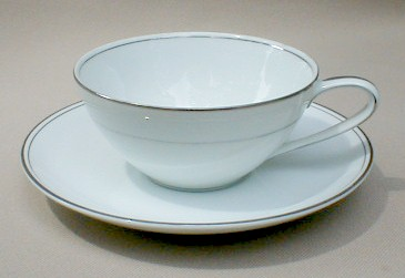 Make sure your browser can show photos and reload this page to see Noritake China Bessie 5788 Cup and saucer set 1 7/8