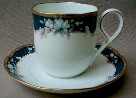 Make sure your browser can show photos and reload this page to see Noritake China Sandhurst 9742 Cup and saucer set