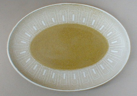 Make sure your browser can show photos and reload this page to see Denby - Langley China Ode Platter, small 9 3/4