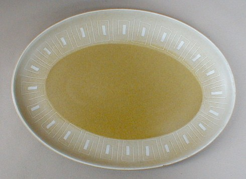 Make sure your browser can show photos and reload this page to see Denby - Langley China Ode Platter, medium 12 1/2
