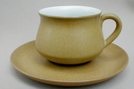 Make sure your browser can show photos and reload this page to see Denby - Langley China Ode Cup and saucer set 2 3/4