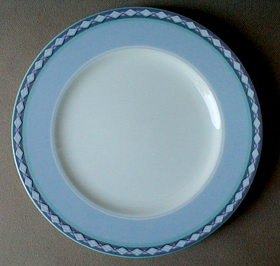 Make sure your browser can show photos and reload this page to see Noritake China City Skies 4741 Bread and butter plate 6 1/2