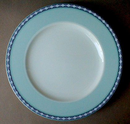 Make sure your browser can show photos and reload this page to see Noritake China City Skies 4741 Salad plate 8 1/4
