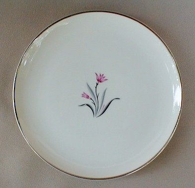 Make sure your browser can show photos and reload this page to see Syracuse China Alpine Bread and butter plate