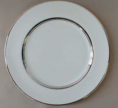 Make sure your browser can show photos and reload this page to see Flintridge China Mirador - Rim Bread and butter plate 6 1/4