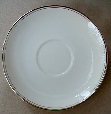 Make sure your browser can show photos and reload this page to see Flintridge China Mirador - Rim Saucer only 6