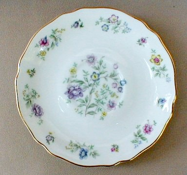 Make sure your browser can show photos and reload this page to see Franconia - Krautheim China Millefleurs Saucer only 5 7/8
