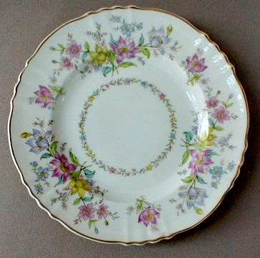 Make sure your browser can show photos and reload this page to see Syracuse China Briarcliff Bread and butter plate 6 1/2