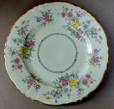 Make sure your browser can show photos and reload this page to see Syracuse China Briarcliff Salad plate 8 1/8