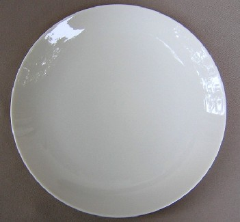 Make sure your browser can show photos and reload this page to see Franciscan China Encanto Blank Dinner plate 10 5/8